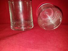 CAMUS COGNAC GLASSES SET OF TWO ( 2 ) - HEAVY BOTTOM GLASS - BRAND NEW - RARE!!!