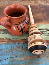 Classic Wooden Whisk Stirrer Mexican Molinillo Chocolate Kitchen Christmas Gift