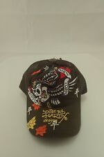 NWT Ed Hardy Christian Audigier New York City Olive Truckers Cap FREE GIFT!