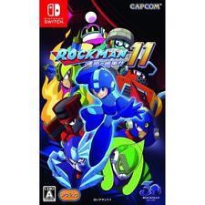 Capcom Rockman 11 Nintendo Switch Japanese Import Region