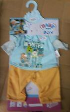 ZAPF CREATIONS VESTIDO BABY BORN BOY