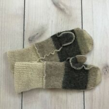 Vintage Polarknit Wool Mittens Iceland Arctic Sheep Knit