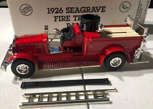 ERTL 1926 Seagrave Fire Truck Bank NEW Model 'Sullys Hobbies'