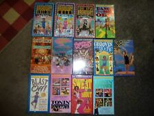 RICHARD SIMMONS VHS TAPE LOT VINTAGE