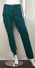 Silver Women's Suki Skinny Denim Jeans Stretch 5 Pockets Green Size W31/L31 NWT