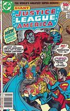 Justice League of America Set #140, 142-144, 150 1977 Steve Englehart Manhunter