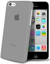 iphone 5C Housse Étui GRIS Extra Fin 0,3 mm