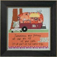 Curly Girl - Mill Hill - Off Your Path - Cross Stitch Kit - CG30-4103