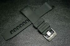 REPLACEMENT NEW 20MM BLACK RUBBER/BAND FOR OMEGA SEAMASTER PLANET OCEAN WATCHES