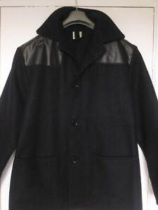 Vintage donkey jacket wool mix coat Large English made punk skinhead work