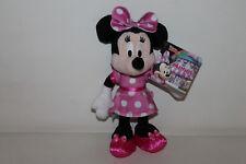 Nicotoy Disney Minnie Mouse Maus Kleid Stofftier Kuscheltier Schmusetier 20cm