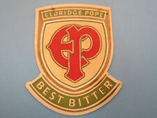 Beer Collectors Coaster: Eldridge Pope Brewery Best Bitter ~ Dorchester, England