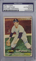 Paul LaPalme Signed 1957 Topps - PSA DNA