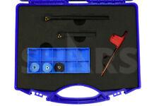 Shars 14 8 Pcs Rh Internal Amp External Threading Tool Holder 5 Insert Cert S