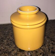 The Original Butter Bell Crock by L. Tremain Sunflower Yellow