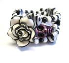 Sugar Skull Bracelet Halloween Bracelet Day Of The Dead Jewelry