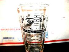 Vintage Cocktail Mix Recipe Glass Barware Bar Man Cave