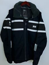 SS83 Men Helly Hansen Ocean Sailing Yachting Waterproof Jacket Size XL