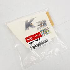 Genuine 86311A7000 Rear Trunk Emblem Logo For KIA K3 : 2013 2014