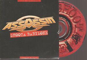 Assassin Shoota Babylone Cd Promo Cardsleeve