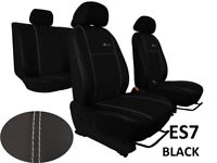 "VW PASSAT B8 ESTATE 2014 ONWARDS ECO LEATHER ""EXCLUSIVE"" TAILORED SEAT COVERS"