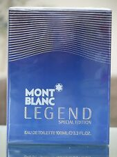 Mont Blanc Legend Special Edition 2014 3.3oz/100ml EDT Spray Men *NIB & SEALED