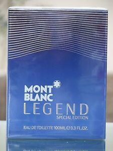 Mont Blanc Legend Special Edition 2014 3.3oz/100ml EDT Spray Men *NIB & SEALED