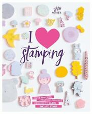 I Heart Stamping: Over 50 Cute Japanese-inspired Designs to Carve, Ink-ExLibrary