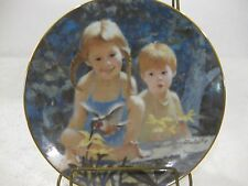 """""""Garden Magic"""" Collectible Plate Summer Days Of Childhood Limited Edition #1817"""