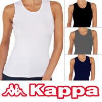 Kappa Damen Top Tank Top Shirt 94% Baumwolle, 6% Elasthan Gr. S - XL
