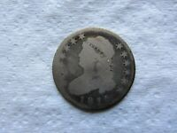 1815 25C Capped Bust Quarter Rare Early Date