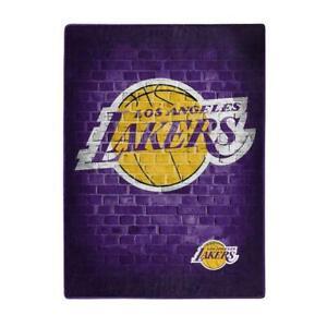 Ribbon Blankie Los Angeles Lakers inspired