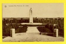 cpa BELGIQUE SINT JULIAAN St JULIEN Canadian War Memorial de Guerre CANADIEN
