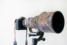 Canon 400mm f2.8 IS Neoprene lens protection camouflage coat cover :  Oak camo