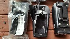 NEW ICOM OEM Hard Leather Case LCF30G Clip For F30G/F40G NOS with clip