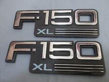 1992-96 FORD F150 XL FENDER EMBLEMS OEM PAIR