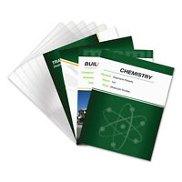Fellowes PET Ultra Clear Binding Covers Unpunched 11 x 8 1/2 Clear 100/Pack