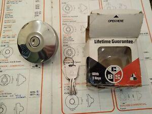 LOCKING FUEL / PETROL CAP - FITS: FIAT 500 & 600 & 124 & 850 SPORT COUPE & DINO