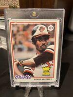 1978 Topps Eddie Murray #36 RC ROOKIE Baltimore Orioles Baseball Card. HOF.