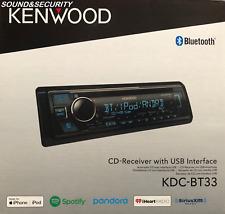 Kenwood KMM-BT325U In-dash Digital Media Receiver w/ Bluetooth USB/AUX