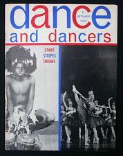 DANCE and DANCERS MAGASINE September 1965 Bolshoi in London Swan Lake