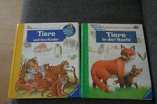 2 Bücher Ravensburger, Wieso, Weshalb, Warum, Tiere und ihre Kinder, Tiere in de