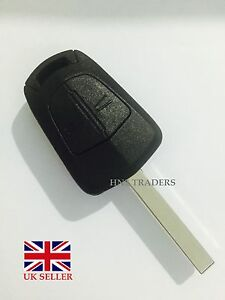 2 Button Remote Key Case Shell FOR Vauxhall Opel Corsa Agila Meriva *A04*