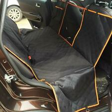 Dog Car Back Seat Covers with Mesh Visual Window for Cars Trucks Suv Waterproof