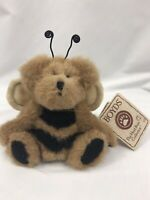 "Boyds Bear Dingle B. Bumbles Bee Stuffed Animal 6""  Plush Bean Bag Retired w/Tag"