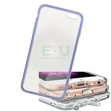 For Apple iPhone 6 Plus Slim Anti-Dust Phone Case - Blue Transparent
