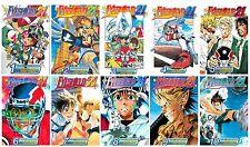 Eyeshield 21 Series English Manga Collection Books 1-10 BRAND NEW!