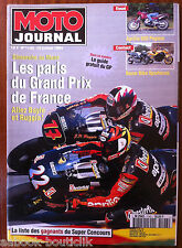 MOTO JOURNAL 13/07/1994; Aprilia 650 Pegaso/ Boxer Bike Spartacus/ GP de France