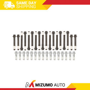 Head Bolts Fit 96-02 Chevrolet GMC Cadilla V8 5.7L 350CID VORTEC