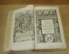 1652 WORKS OF THE PHILOSOPHER SENECA; FOLIO BOUND IN VELLUM
